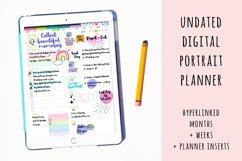 Undated Digital Planner in Portrait Orientation Product Image 6