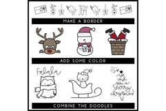 Merry and Bright - A Christmas / Winter Doodles Font Product Image 5
