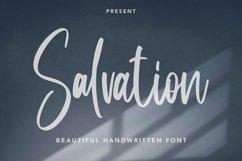 Web Font Salvation - Beautiful Handwritten Font Product Image 1