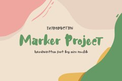 Marker Project Product Image 1