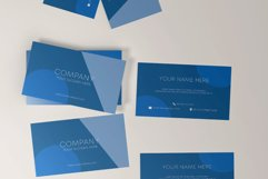 Classic Blue Business Card Product Image 4