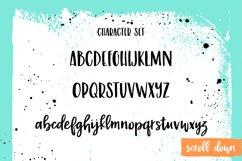 Malibu Punch, a flirty brush font Product Image 4