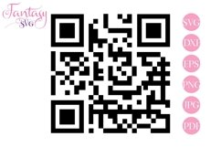 QR Code - Svg Cut Files Product Image 1