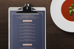 Restaurant Menu Template and Logo Product Image 4