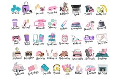 Planner Icons Clip Art, To Do List Icons, Planner Stickers Product Image 2