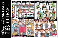 Sweet Christmas -Huge Christmas Clipart Bundle Product Image 2