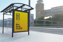 Bus Shelter Billboard Mockup Product Image 1