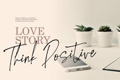 Web Font Little Smooth - A Handwritten Signature Font Product Image 2