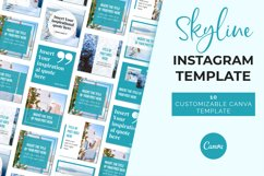 Skyline Instagram Canva Template Product Image 4