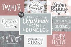FARMHOUSE CHRISTMAS FONT BUNDLE - Dixie Type Co. Product Image 1