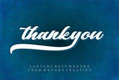 Lantang Best   Modern Stylish Font Product Image 5