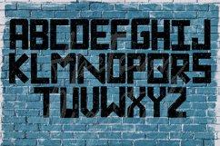Grunge Font, Distressed Font, Sport Font, Athletic font Product Image 4