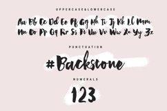 Backstone - A Handwritten Script Font Product Image 6