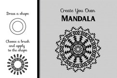 80 Tribal Pattern Brushes for Adobe Illustrator Product Image 4