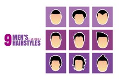 9 Men's Hairstyles Product Image 1