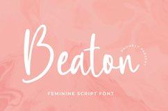 Beaton Font Product Image 4