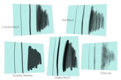 Pencil Brushes for Procreate Product Image 6