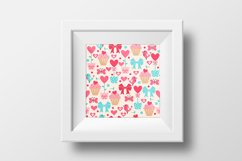 Set of Valentine's Day Seamless Patterns Product Image 3
