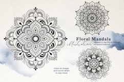 Nautical Floral & Mandala Watercolor Product Image 7