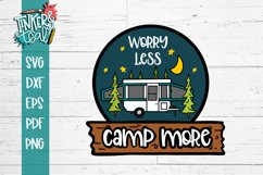 Worry Less Camp More Pop Up SVG Product Image 2