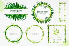 Bamboo. Watercolor illustrations. Product Image 5