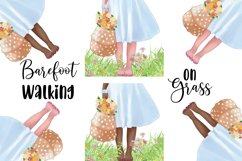 SPRING Clipart Planner FASHION Girl Clipart | Floral Planner Product Image 7