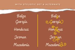 Allysia - a monoline script font Product Image 5