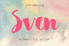 Sven Font Product Image 1