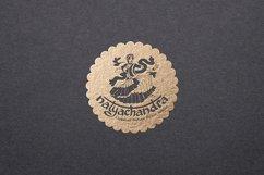 India Dance logo symbol illustration Product Image 1