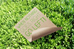 Go Green - handdrawn font Product Image 4