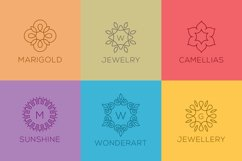 50 Luxury Linear Premade Logo Pack Product Image 3