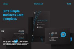 3 In 1 Simple Business Card Product Image 1