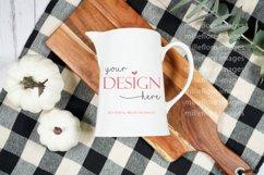 Farmhouse Milk Jug Flatlay Craft Mockups JPEG Styled Photo Product Image 2