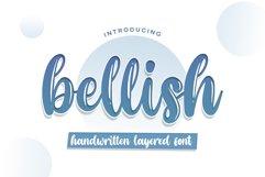 Bellish Layered font Product Image 1
