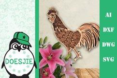 Farm Animal bundle 3d svg layered Multi layer mandala farm Product Image 7
