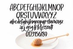 Web Font Honey Moon - Handlettering Font Product Image 3