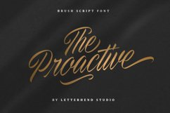 The Proactive Script Product Image 1