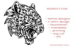 Svg tiger mandala Product Image 2