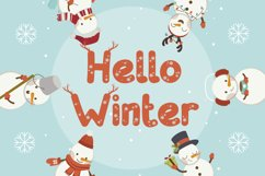 Donder - Winter Fancy Font Product Image 4