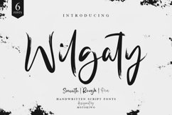Wilgaty - 3 Stroke Edition 6 Fonts Product Image 1