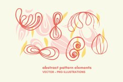 scandinavian abstract art elements Product Image 1