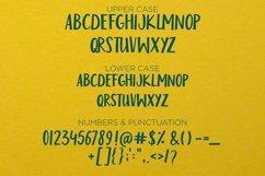 Web Font Mister fish- a playful fun font Product Image 5