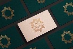 Diamond Mandala Monogram Split Font Duo Product Image 4