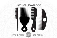 Hair stylist SVG, Hair Dresser, hair styling clip art Product Image 2