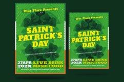St Patrick Day Shamrock Flyer Product Image 1