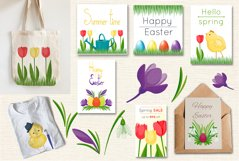 Spring vector set Product Image 2