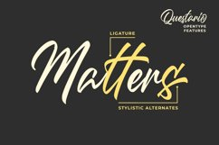 Questario - Stylish Script Font Product Image 4