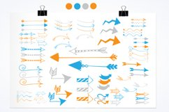 Arrow Doodles graphics and illustrations Product Image 2