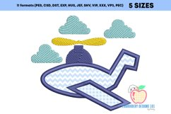 Aeroplane Embroidery Applique Designs Product Image 2
