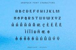Aropuck Font Product Image 5